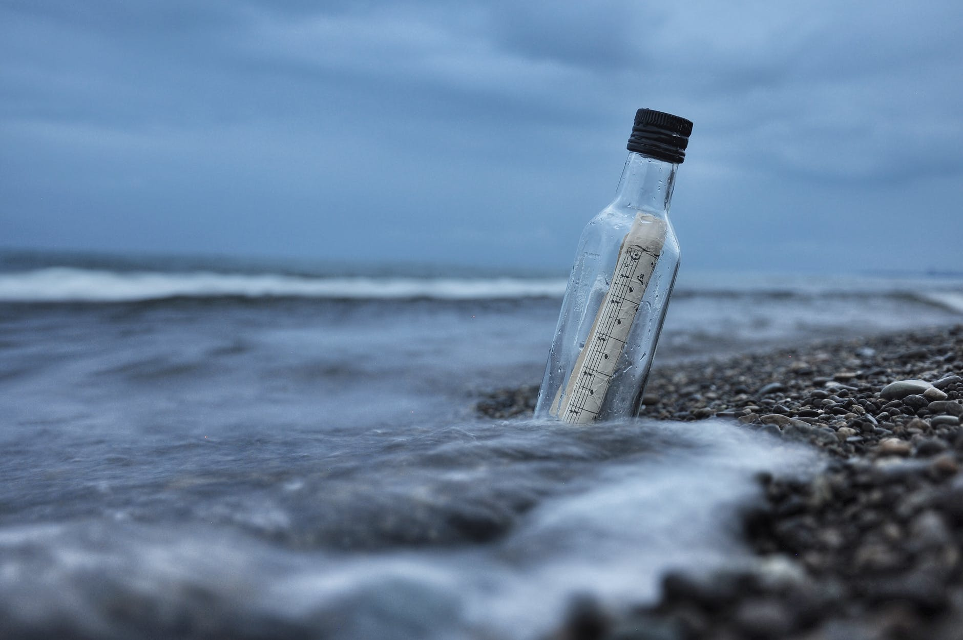 beach bottle cold daylight